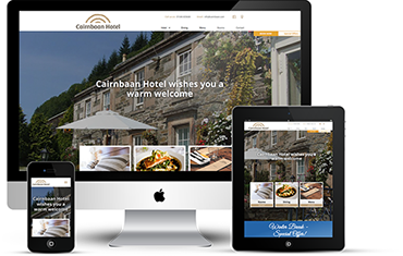 Cairnbaan Website Design - By Wright Designer