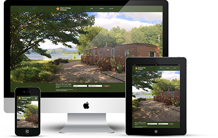 Shore Cottage Holidays Website Design - By Wright Designer