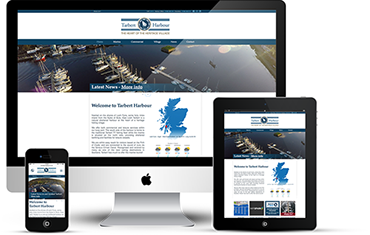 Tarbert Harbour Website Design - By Wright Designer